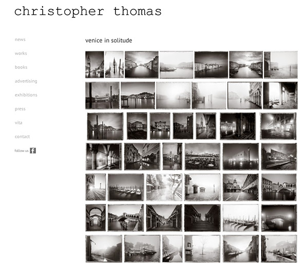 Christopher Thomas Website