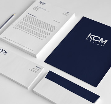 KCM – Logo & Stationary
