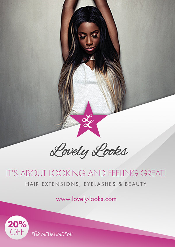 Lovley Looks – Logo & Flyer