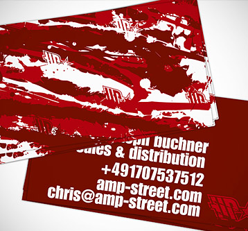 AMP Street – Business Cards