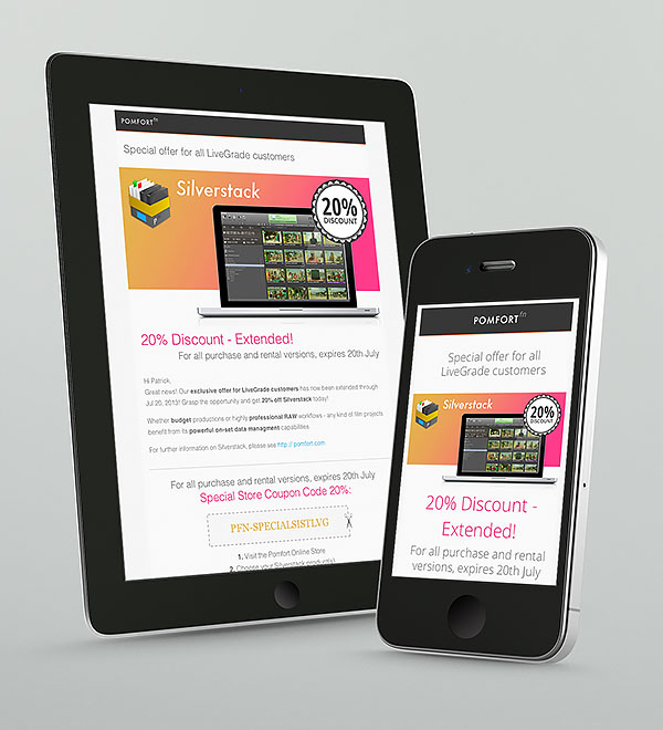 Responsive Email Newsletter