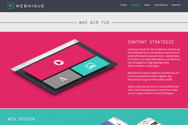 Webnique Website